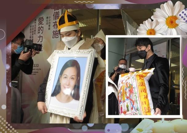 林子博愛妻出殯 兒子卓楠手捧母親遺照一面哀傷|即時新聞|繽FUN星網|on.cc東網