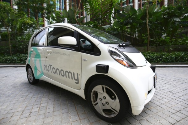 nuTonomy無人駕駛的士首在新加坡載客|即時新聞|財經|on.cc東網