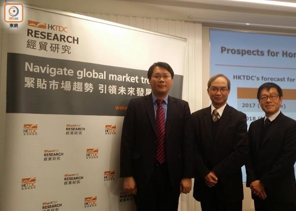 香港貿發局望明年出口貨值升6% 即時新聞 財經 on.cc東網