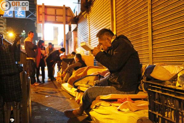 獨家消息:深水埗露宿者欠缺支援被迫瞓街 - 即時新聞