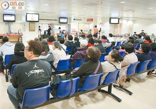 過去一周公院急癥室日均逾6300人次求診 即時新聞 港澳 on.cc東網