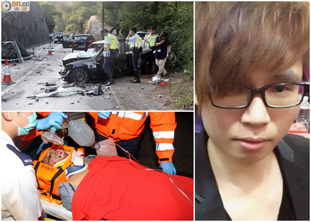 石澳2死車禍 Civic司機遊車河喪命 即時新聞 港澳 on.cc東網