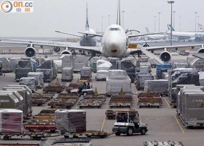 機場貨運量排名 香港再踞全球第一 - 東網即時