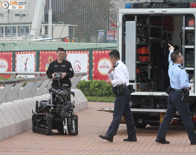 新聞背後:爆炸品處理課保障訪港政要安全 - 東網即時