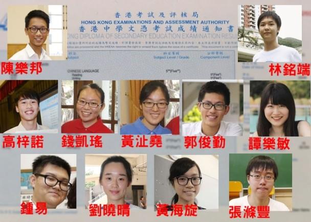 DSE放榜:11名狀元榜|即時新聞|港澳|on.cc東網