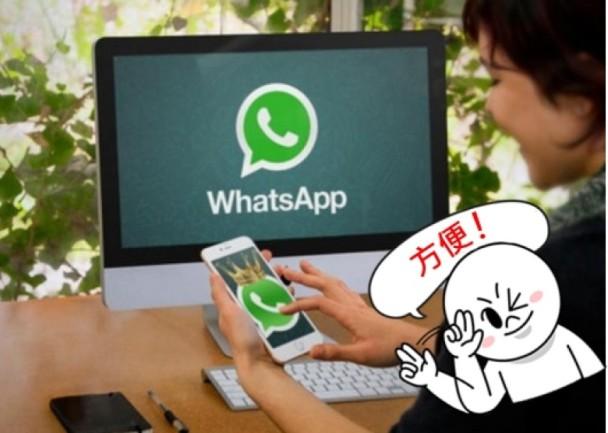 WhatsApp推官方電腦軟件 用戶更方便順手!|即時新聞|港澳|on.cc東網