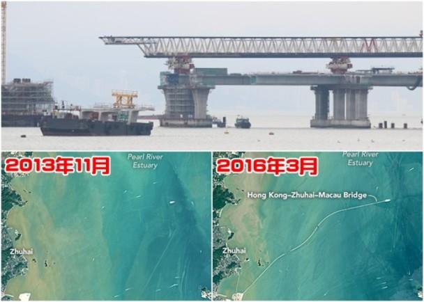 NASA看大橋 港珠澳橋身2年間成形 即時新聞 港澳 on.cc東網