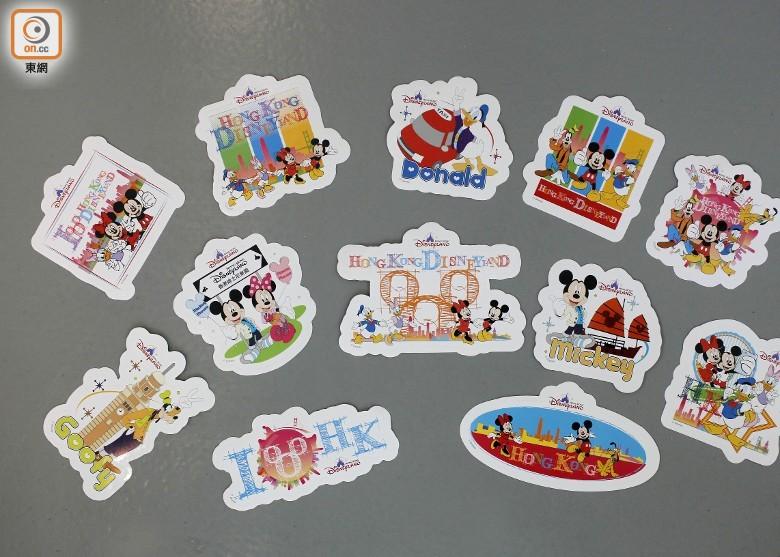 迪士尼推12款貼紙 介紹香港地標及交通文化 即時新聞 港澳 on.cc東網