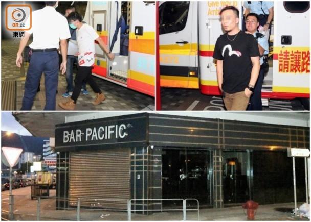 酒吧掟飛鏢眼超超 9蒲吧男互毆被捕 即時新聞 港澳 on.cc東網