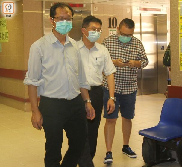 林子健案:民主黨3成員探病 李柱銘未見影|即時新聞|港澳|on.cc東網