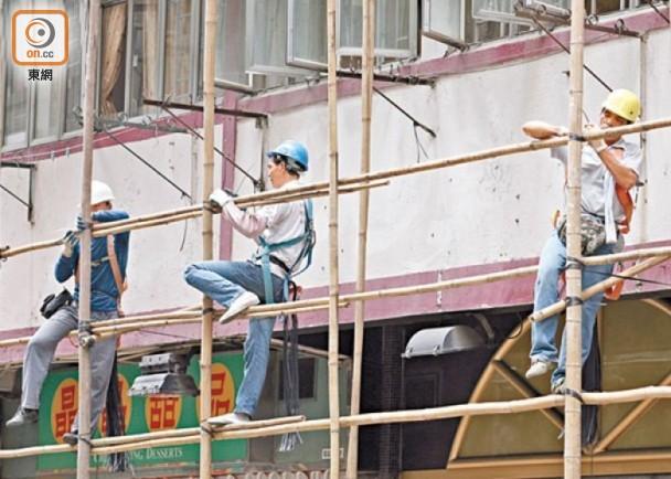 建造業致命意外暴增9成 19人命喪地盤|即時新聞|港澳|on.cc東網
