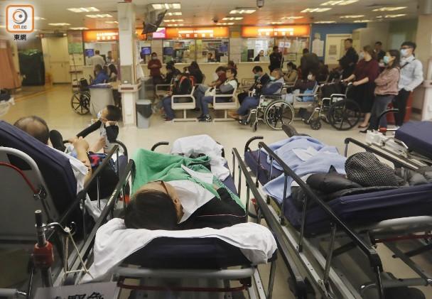 輪候急癥室稍緩和 醫護:等少過8個鐘就賺咗|即時新聞|港澳|on.cc東網