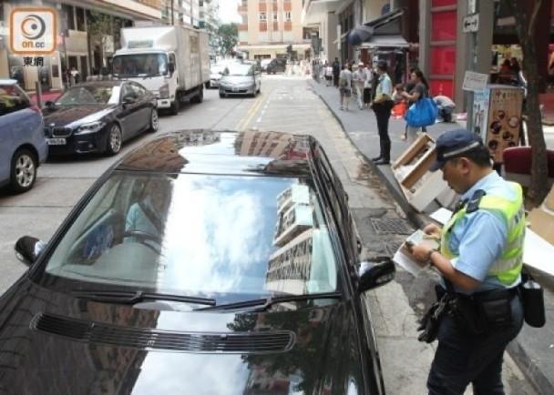 打擊違泊 政府擬用影像作檢控 並修例發電子告票 即時新聞 港澳 on.cc東網