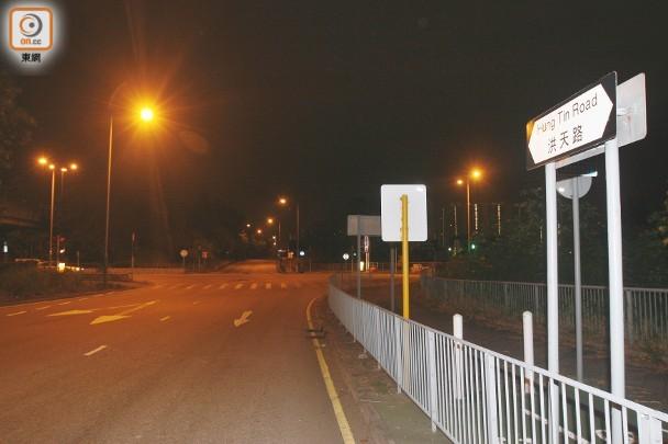 客貨車元朗公路撞車不顧而去被截 揭司機酒駕被捕 |即時新聞|港澳|on.cc東網