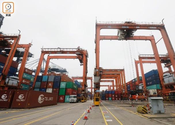 貿戰持續 影響港轉口生意倍增至近2000億 即時新聞 港澳 on.cc東網