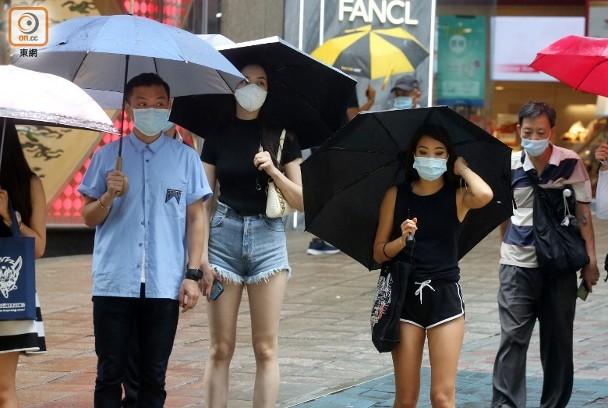 天氣預報:多雲有雨最高30°C 間中有狂風雷暴|即時新聞|港澳|on.cc東網