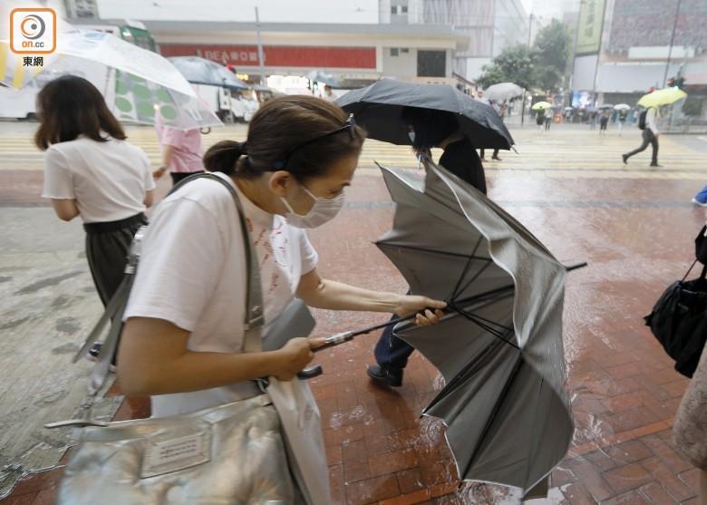 天文臺取消黃色暴雨警告 料晚間仍有驟雨及雷暴 即時新聞 港澳 on.cc東網