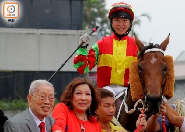 馬主伍燕梅爆料:琦妹想開班教騎馬...|即時新聞|體育|on.cc東網