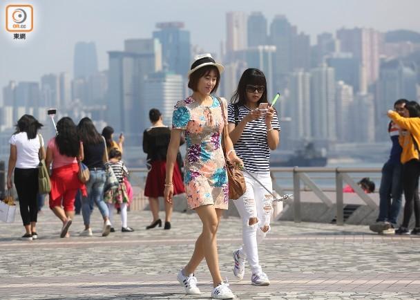 天氣:明日天晴乾燥 最低約23°C 即時新聞 交通天氣 on.cc東網
