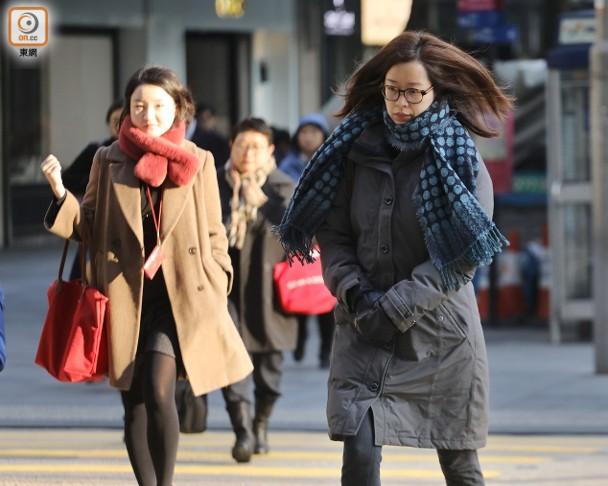 天氣:大致天晴乾燥 最高氣溫13℃ 即時新聞 交通天氣 on.cc東網