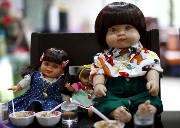 泰迷信:鬼娃娃當人仔養 帶上機可佔座位|即時新聞|國際|on.cc東網