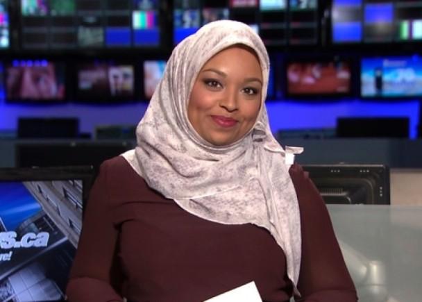 回教女主播披頭巾報道新聞 為加拿大創先河|即時新聞|國際|on.cc東網