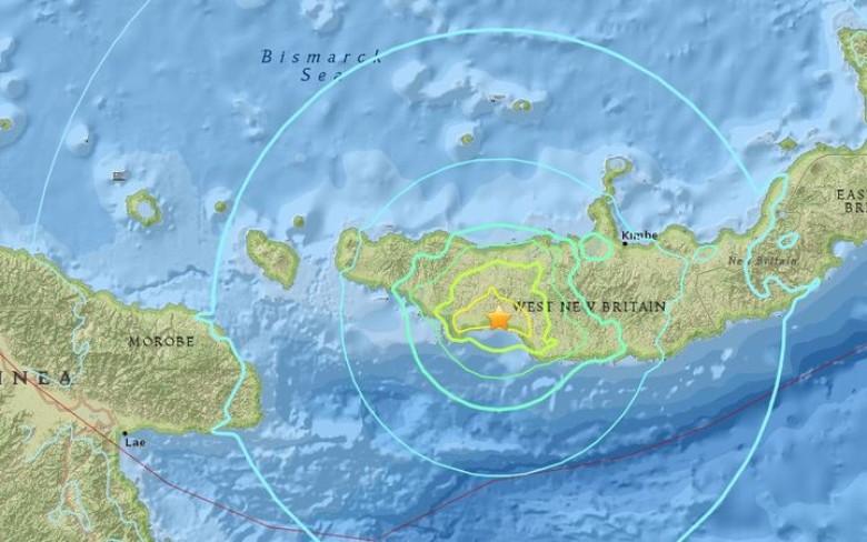 巴布亞新畿內亞6.5級地震 無引發海嘯警告|即時新聞|國際|on.cc東網