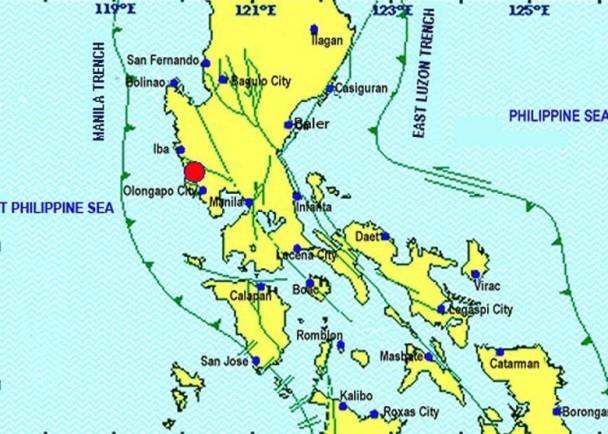 菲律賓5.5級地震 馬尼拉震感強烈 即時新聞 國際 on.cc東網