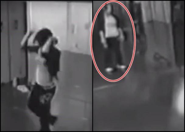 少女排舞室練舞 詭異女子黑影站身後 即時新聞 國際 on.cc東網