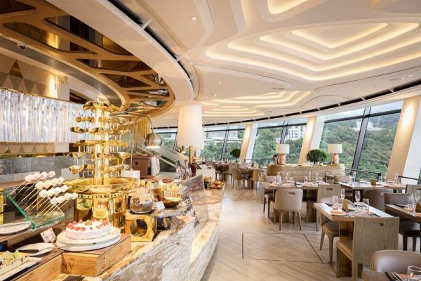 【灣仔好去處】自助山推限時下午茶優惠 360度旋轉餐廳/自助餐推薦 /dresscode | 港生活 - 尋找香港好去處