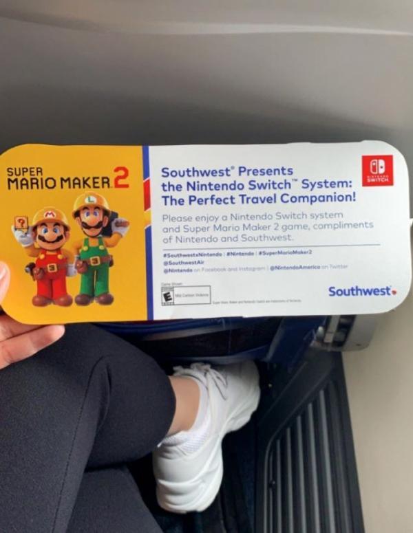 超驚喜!任天堂為全機乘客送禮物 搭飛機免費送一人一部Switch+Mario新遊戲   港生活 - 尋找香港好去處