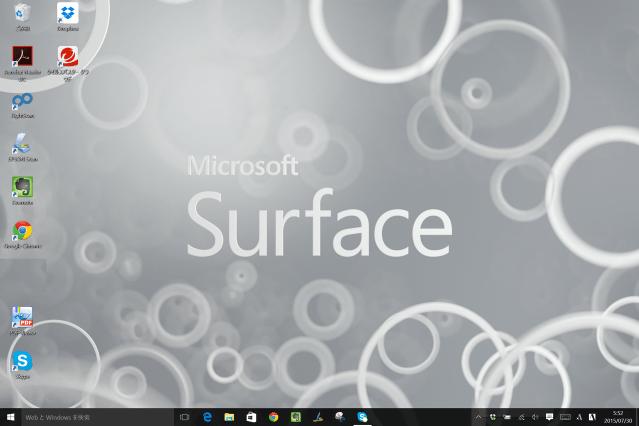 Win10−Surface7