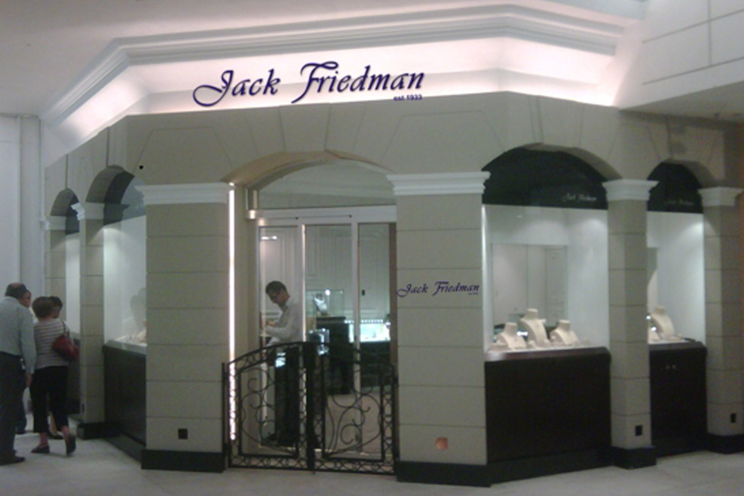 Jack Friedman Jewelry Store Custom Made Display Case From Besty Display