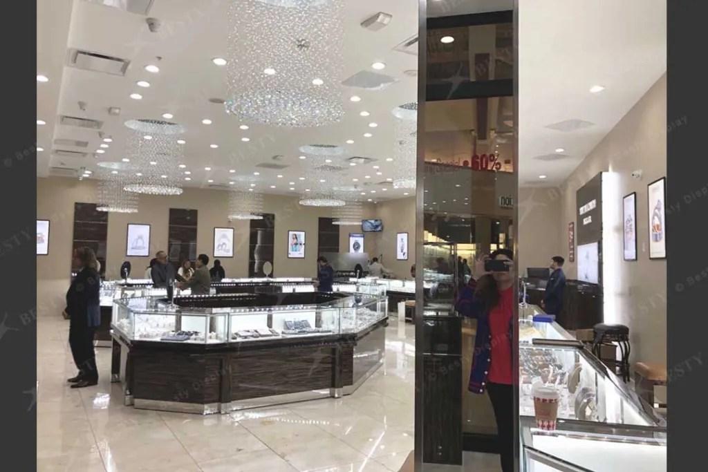 Jewelry Retail Shop with S-084 | Besty DIsplay