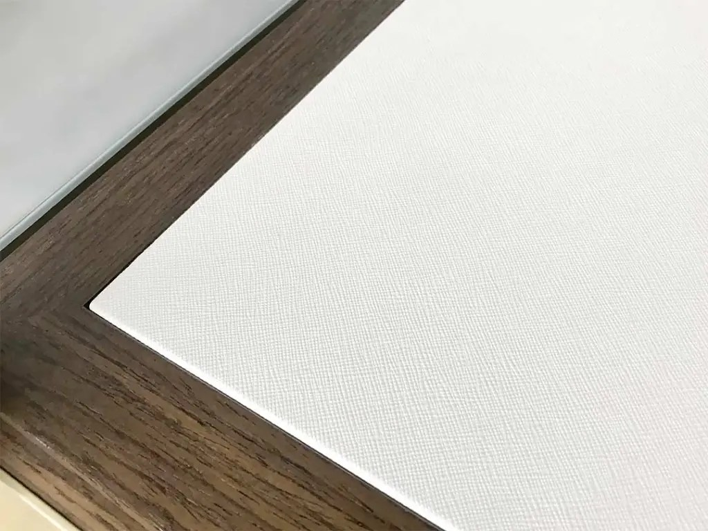 Detail of PU Leather Board S-02   Besty Display