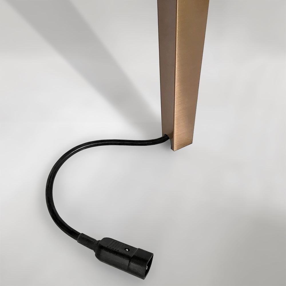 Power Wire in Leg Invisible   Besty Display