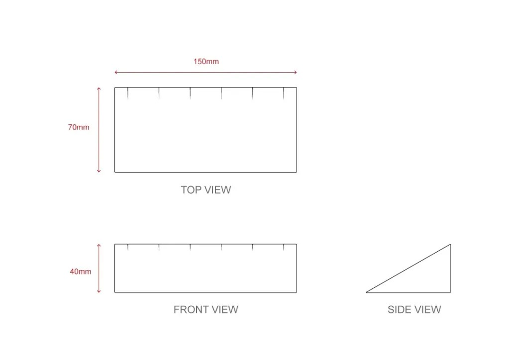 NH-005 Technical File Measurement | Besty Display