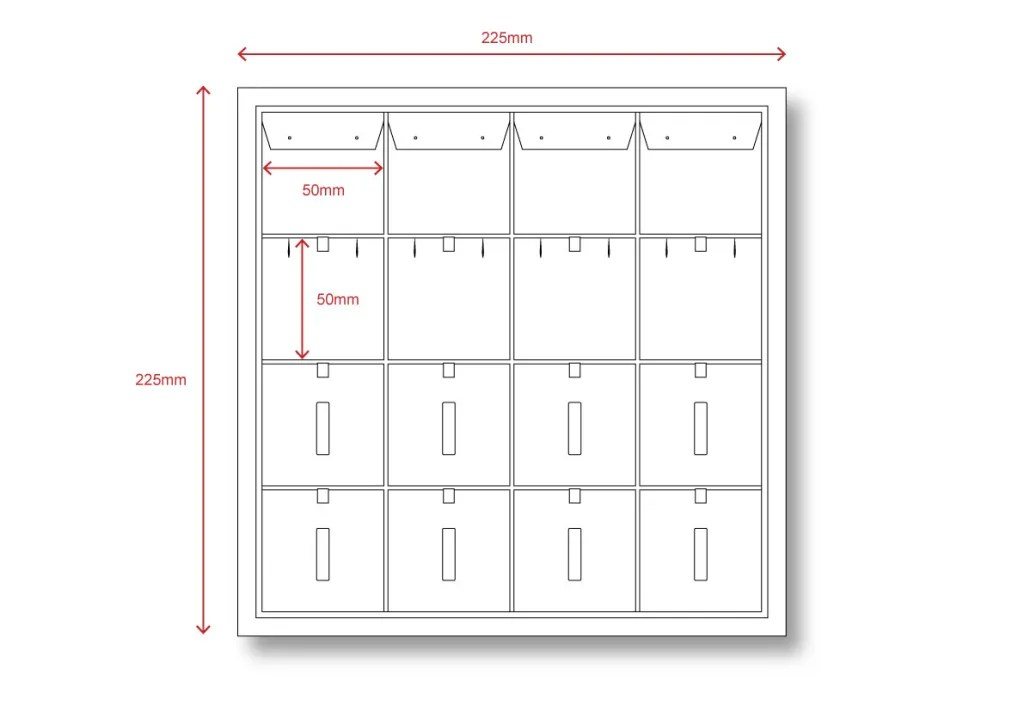 TR-01 Technical File Measurement | Besty Display