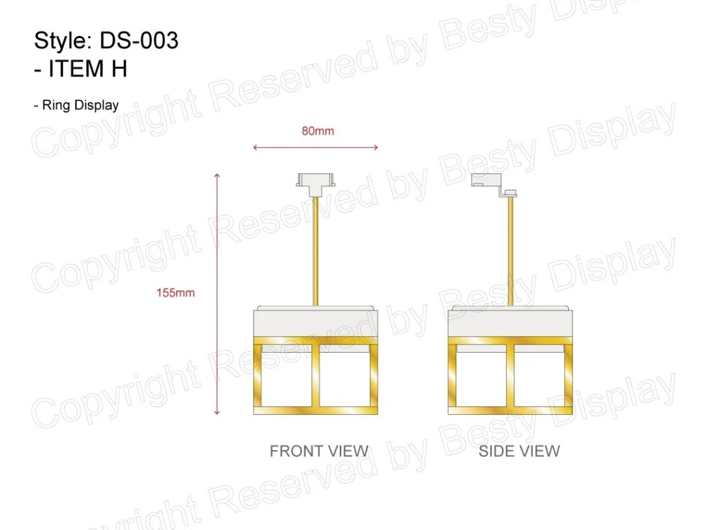 DS-003 Item H Technical File Measurement   Besty Display