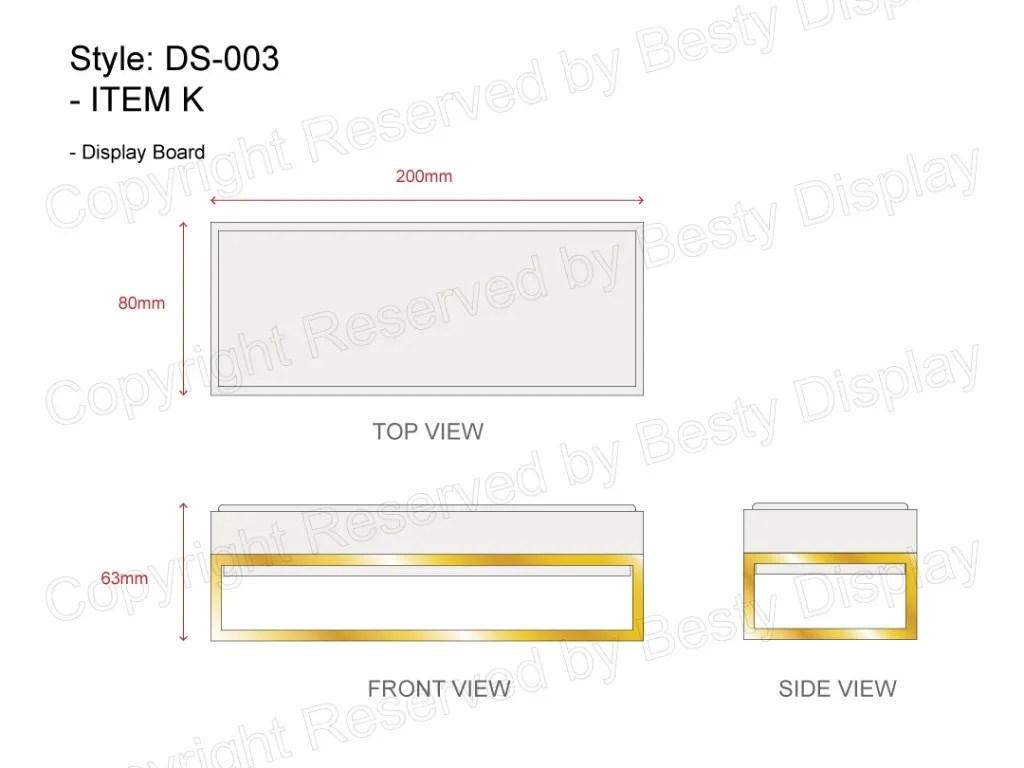DS-003 Item K Technical File Measurement   Besty Display