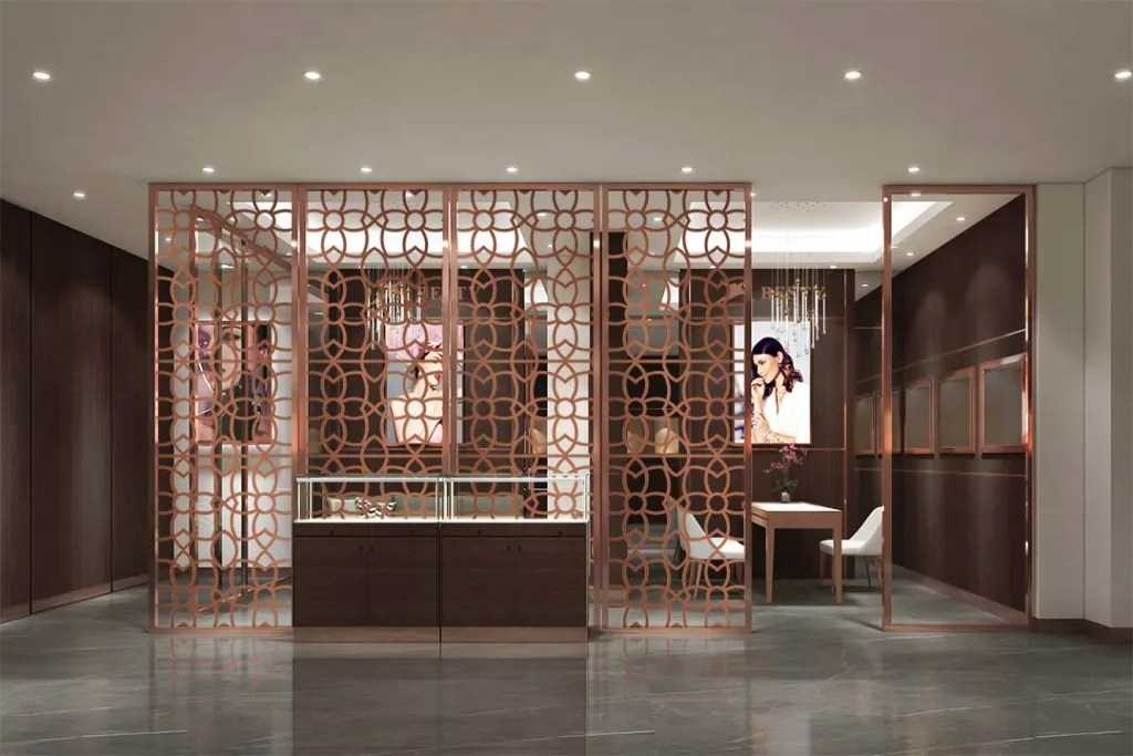 MPW-03 Metal Partition Wall | Besty Display