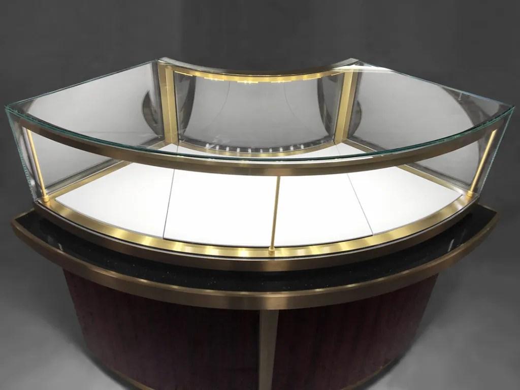 MT-36 Glass Showcase Detail | Besty Display