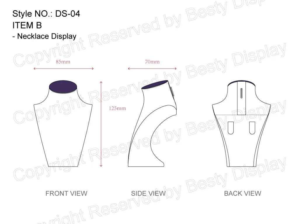 DS-004 Item B Measurement | Besty Display
