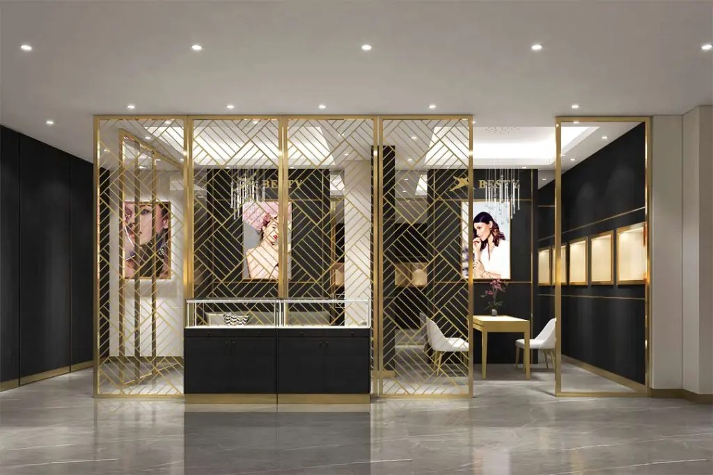 MPW-08 Metal Partition Wall   Besty Display