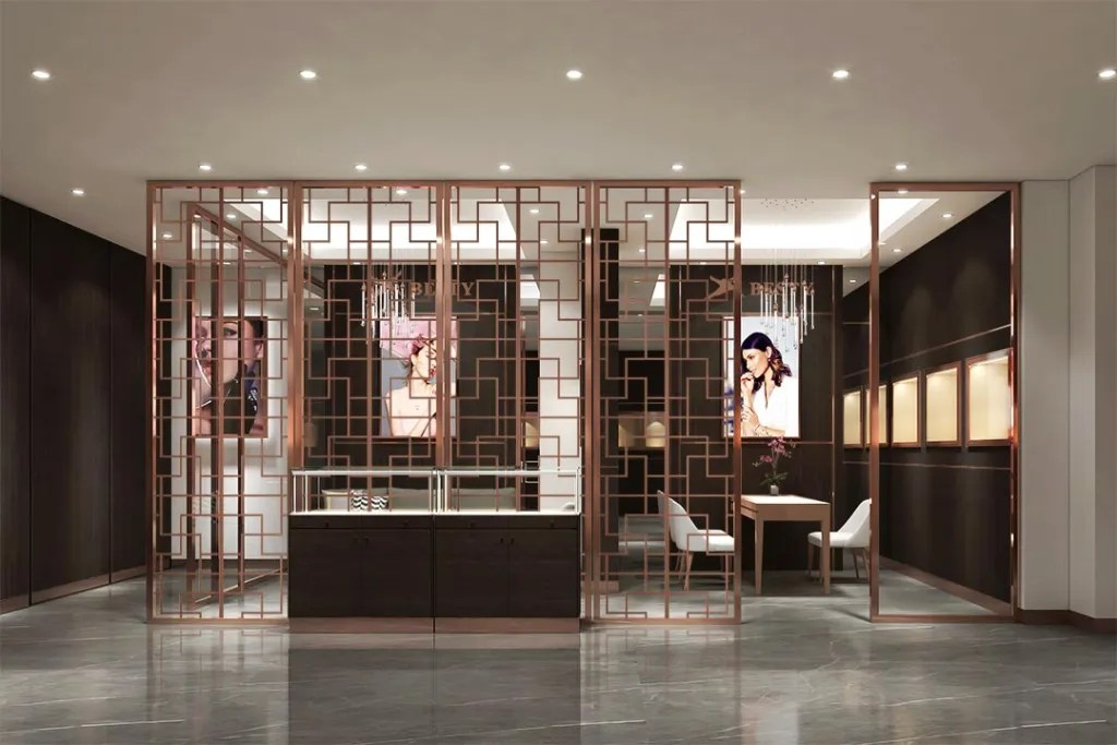MPW-11 Metal Partition Wall   Besty Display