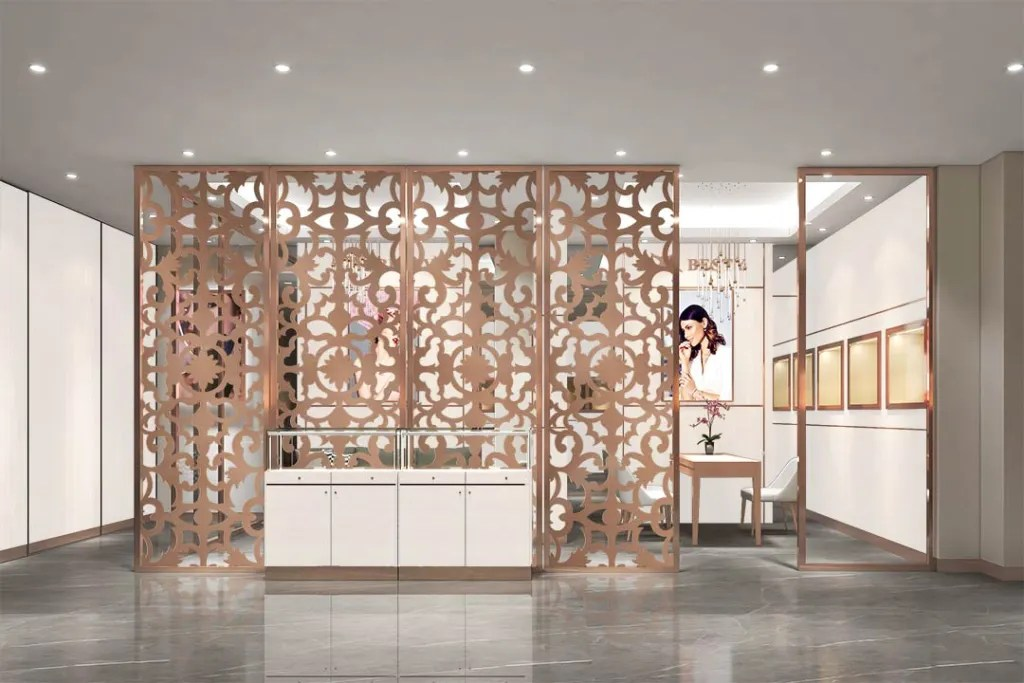 MPW-16 Metal Partition Wall   Besty Display