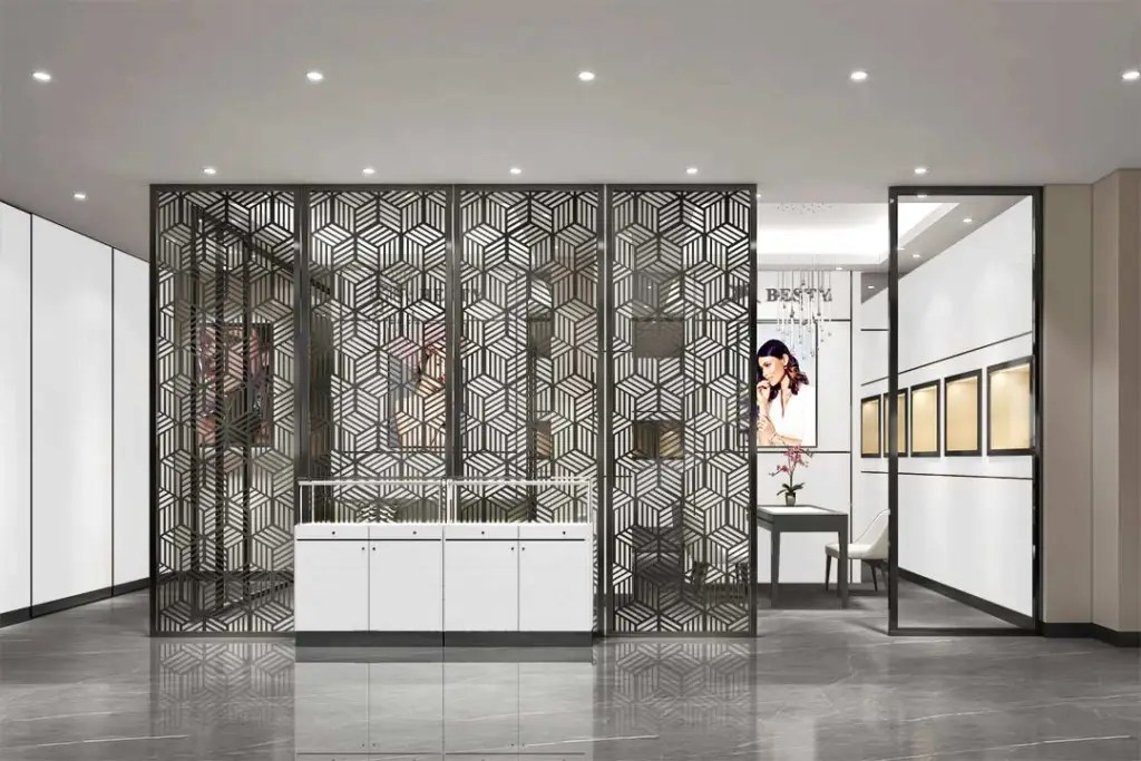 MPW-17 Metal Partition Wall   Besty Display