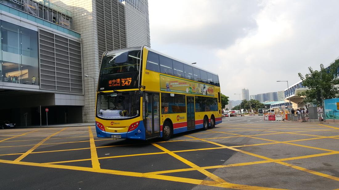 Citybus Cemetery route 347 - Hongkong Bus Stop
