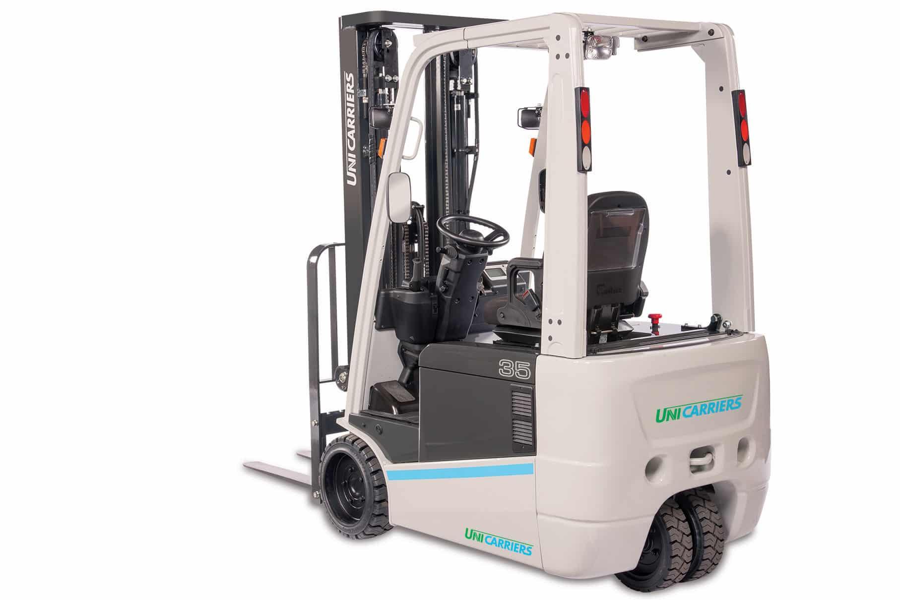 UniCarriers Forklift - TX-M 3-Wheel Electric Forklift - H&K Equipment