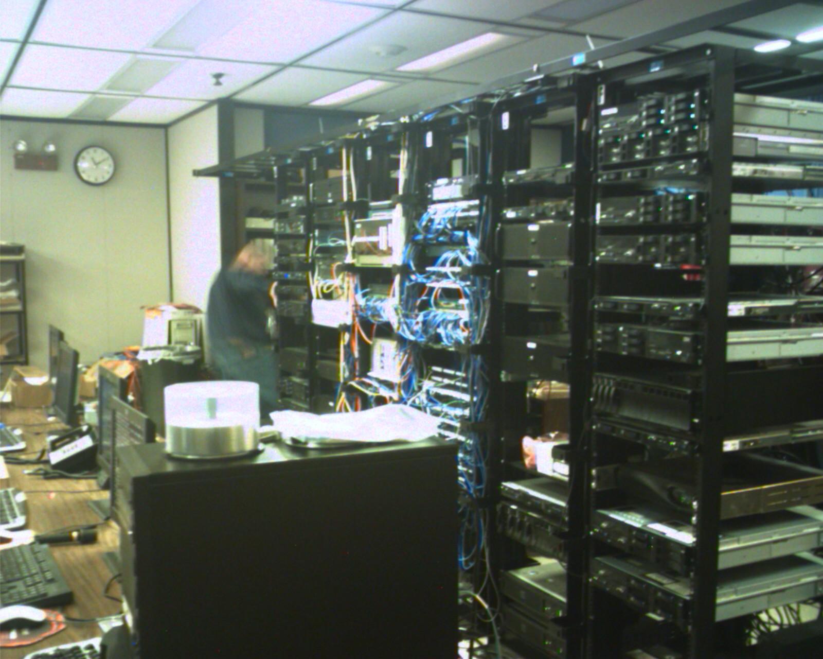 NMU server racks